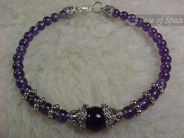 Amethyst Crystal Dream Bracelet and Lucid Dreaming Instructions