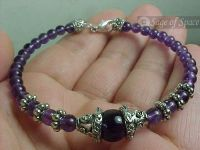 Amethyst Crystal Dream Bracelet