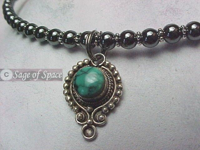 Sacred Turquoise Goddess Necklace