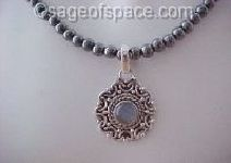 Witchs Ladder Rosary Necklace