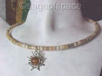 Sun God Necklace wiccan pagan