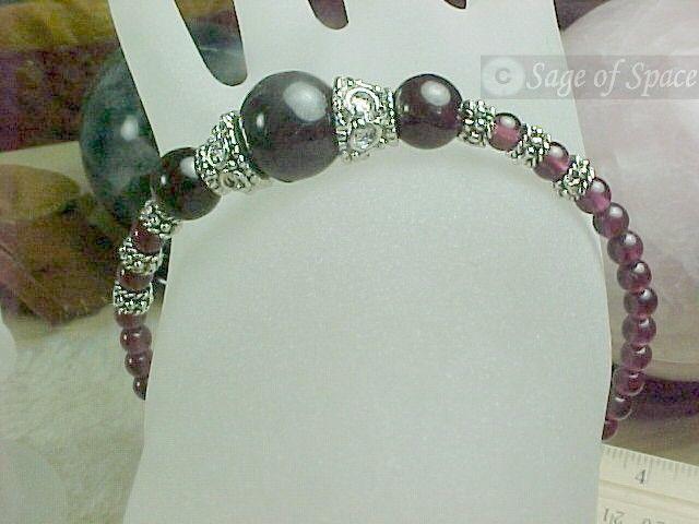 Love Spell Garnet Bracelet - Old Witchcraft