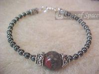 Bloodstone Protection Bracelet