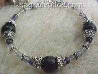 Third Eye Chakra Bracelet -Seers Bracelet in Rainbow Fluorite