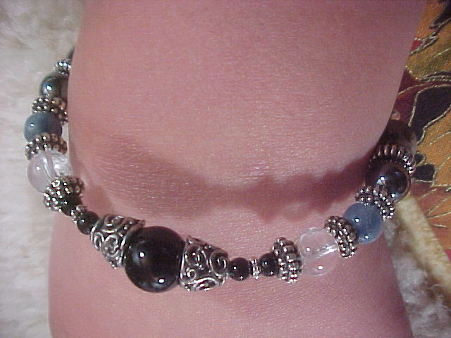 Psychic Opening Bracelet - Serious Protection Bracelet for those  experiencing Psychic Openings