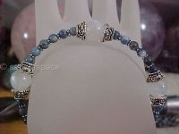 Rainbow Moonstone Moon Goddess Bracelet