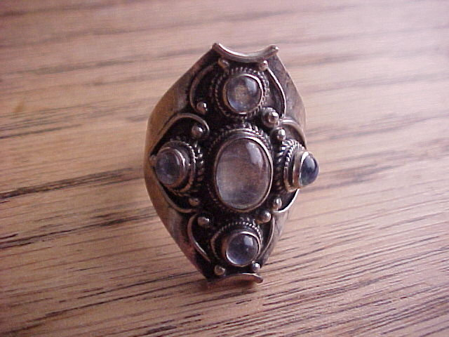 Hecate Ring Sterling Silver for Witches, wiccans, pagans